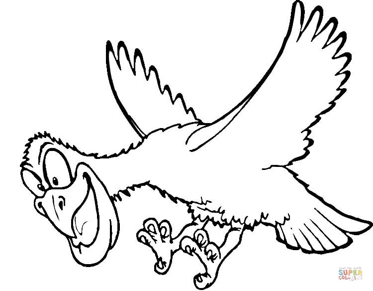 750x584 Hawks Coloring Pages Free Coloring Pages