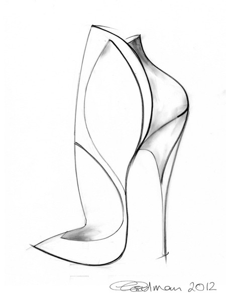 450x600 112 Best Shoe Design Sketches Images On Fashion