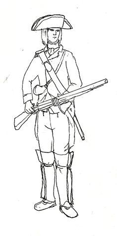 236x477 Marburian Redcoat C1704 18th Century Warfare