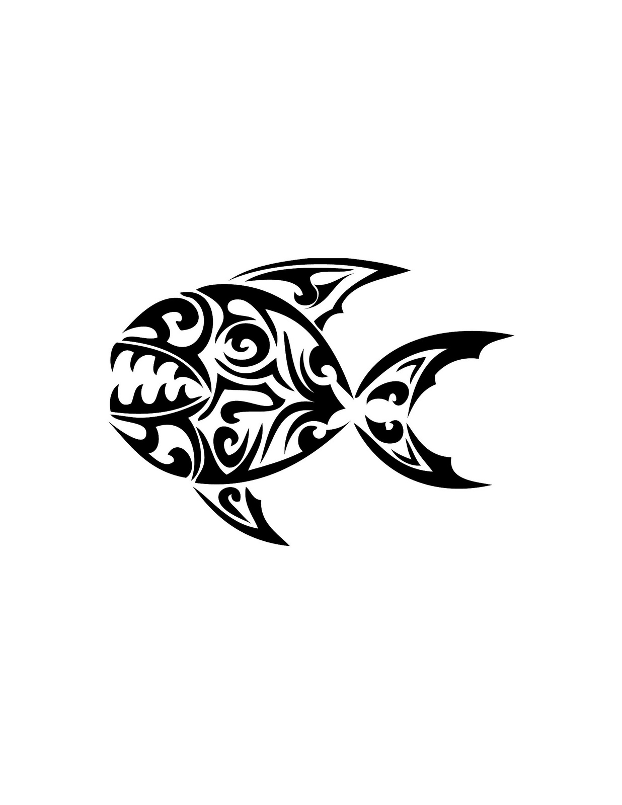 1236x1600 Tribal Koi Fish Tattoo Meaning Koi Fish Tattoo Meaning For Men