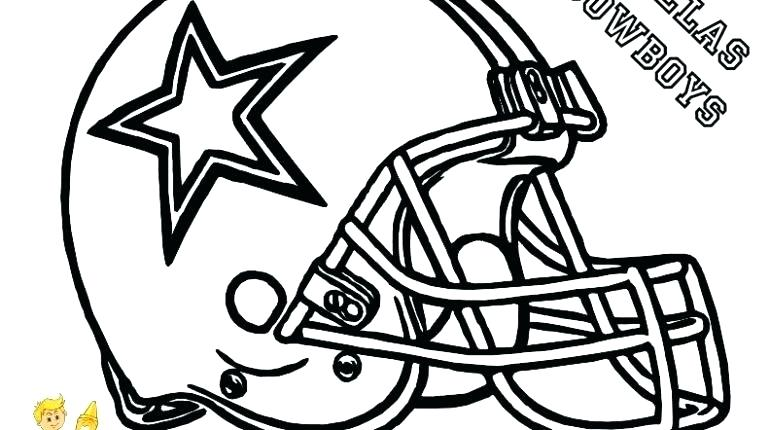 770x430 Amazing Broncos Coloring Pages Print Football Helmet College T