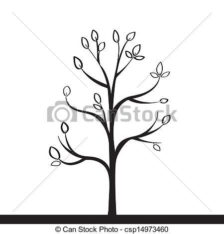 450x470 Smaller Tree Clipart