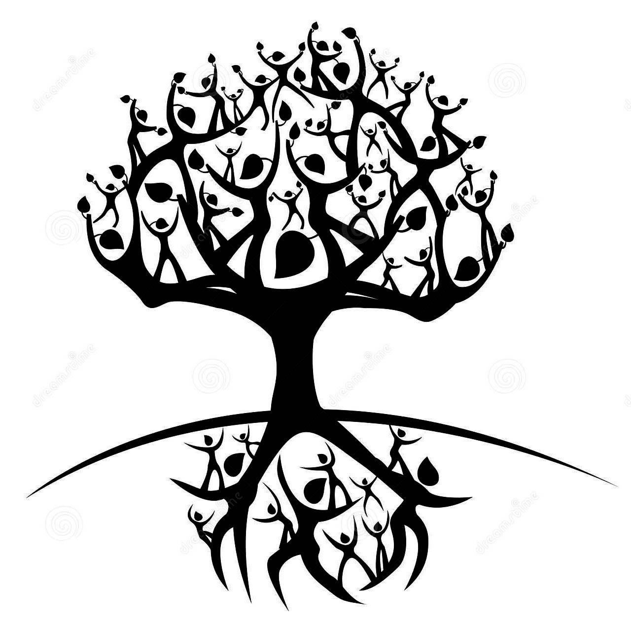 1280x1266 Tribal Tree Drawings Tribal Lion Drawings