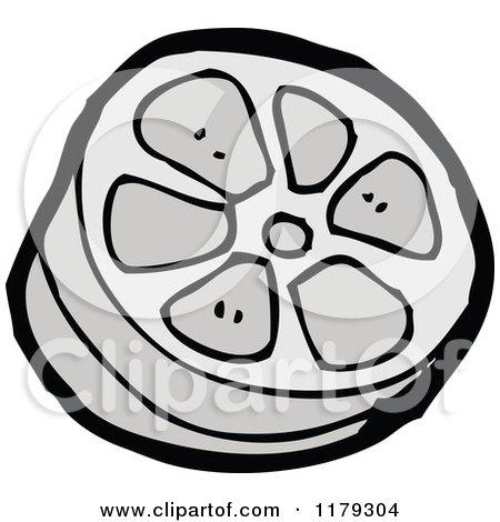 450x470 Cartoon Of A Film Strip Reel