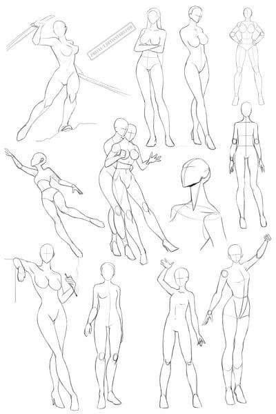 400x600 No Mio Pose Drawings, Pose And Drawing Reference