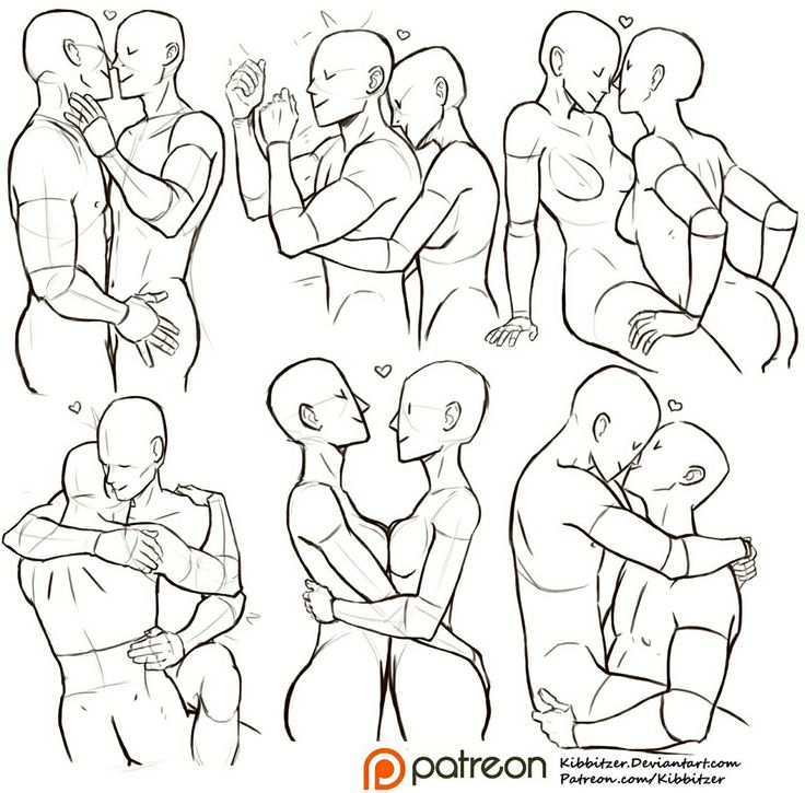 736x725 Pictures Couple Kissing Drawing Reference,