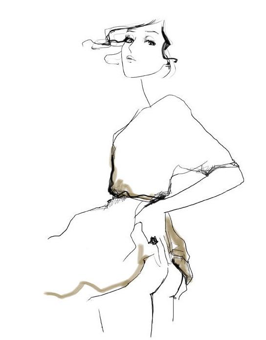 544x695 75 Best Fashion Illustrations Images On Fashion