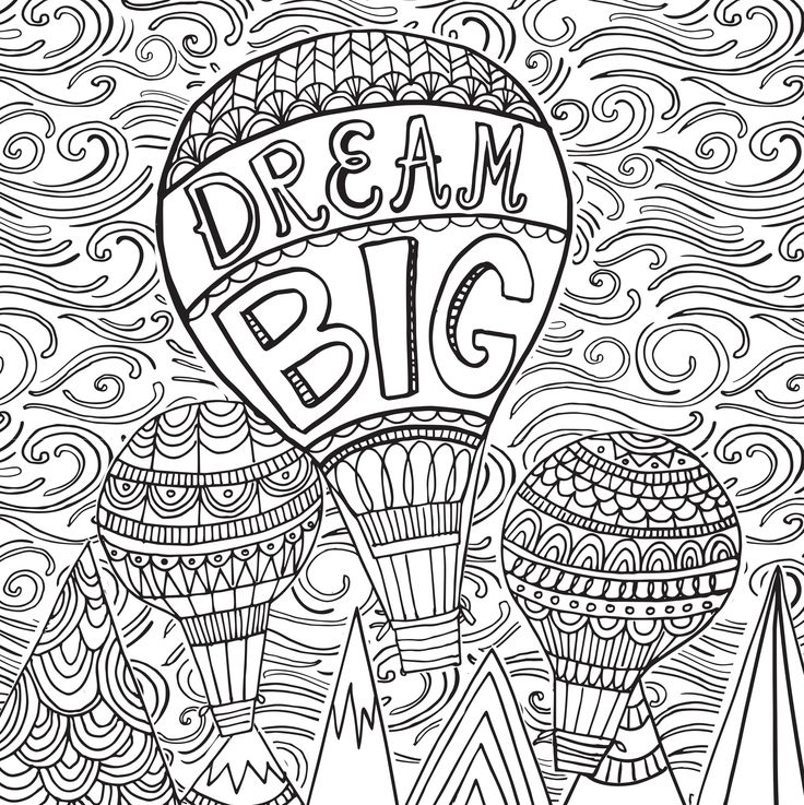 736x737 Stress Relief Coloring Pages Kids Free