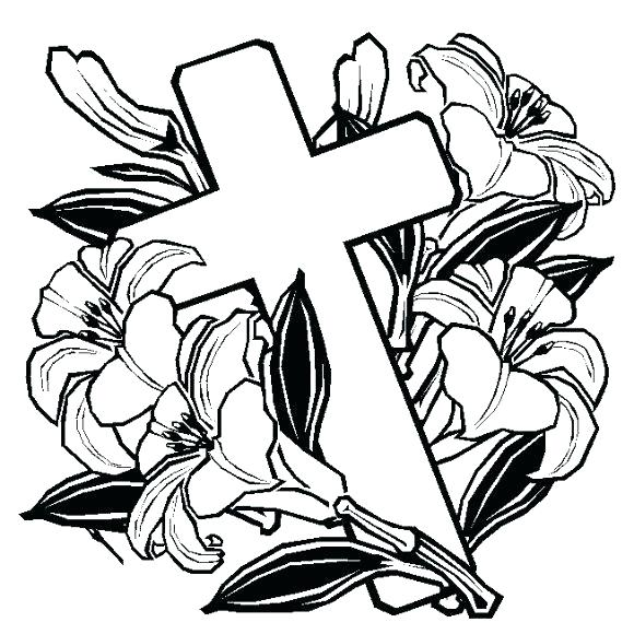 580x580 Top Rated Religious Easter Coloring Pages Images Breathtaking