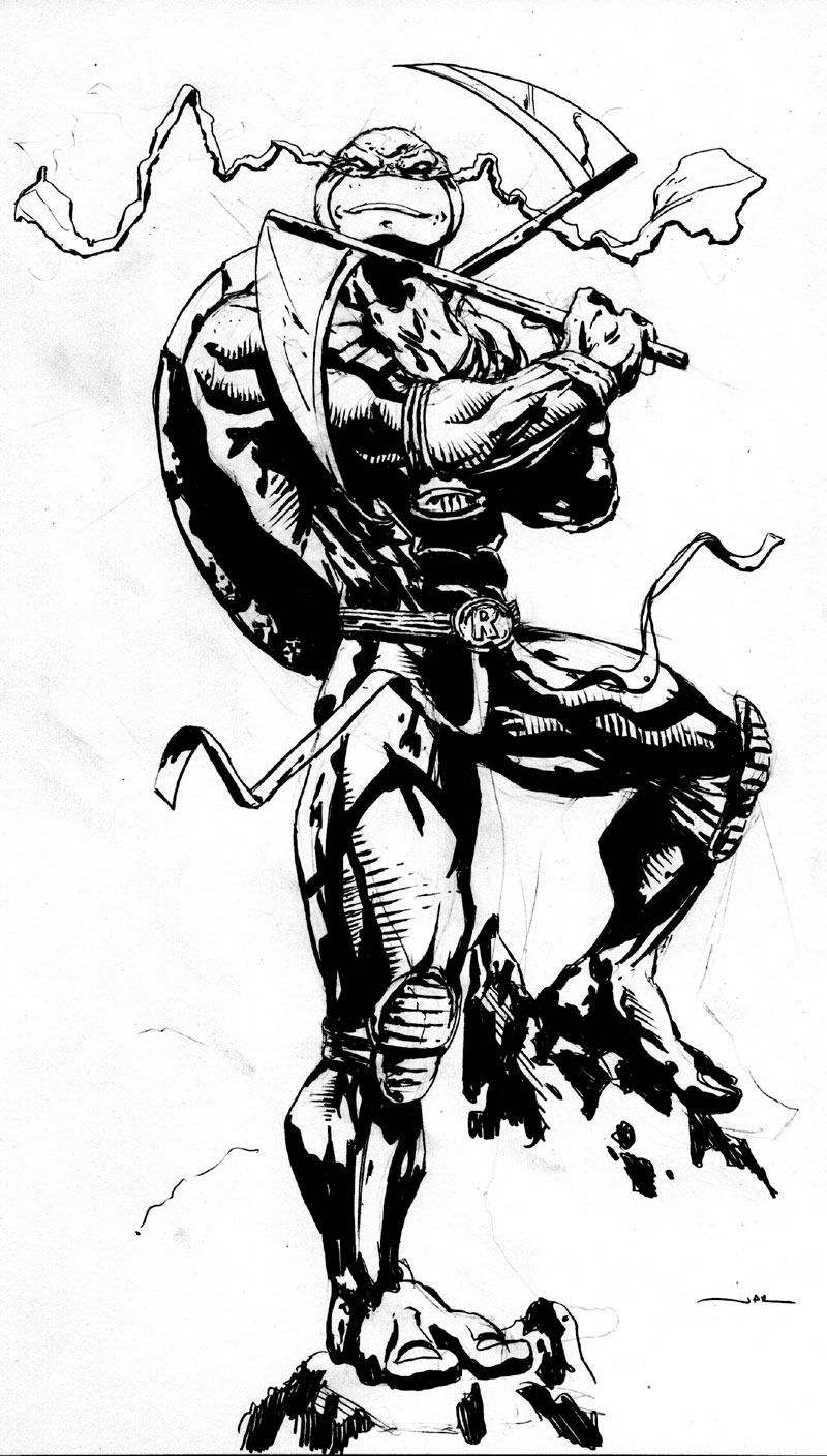 800x1409 Rembrandt. The 5th Turtle By Jonathan Rector Rpg Tmnt Other