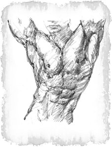 228x300 Young Naked Men Drawings Fine Art America