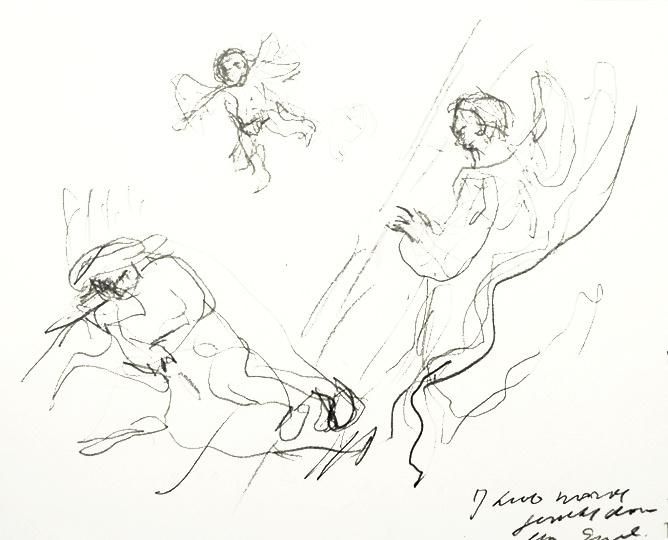 668x540 Artist Paul Werner Jacob Awaken By The Angel