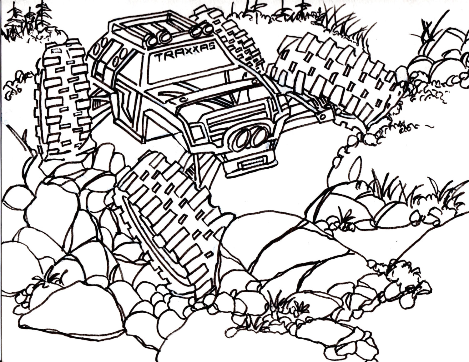 1500x1159 Coloring Pages Gorgeous Rc Car Coloring Pages Il Fullxfull