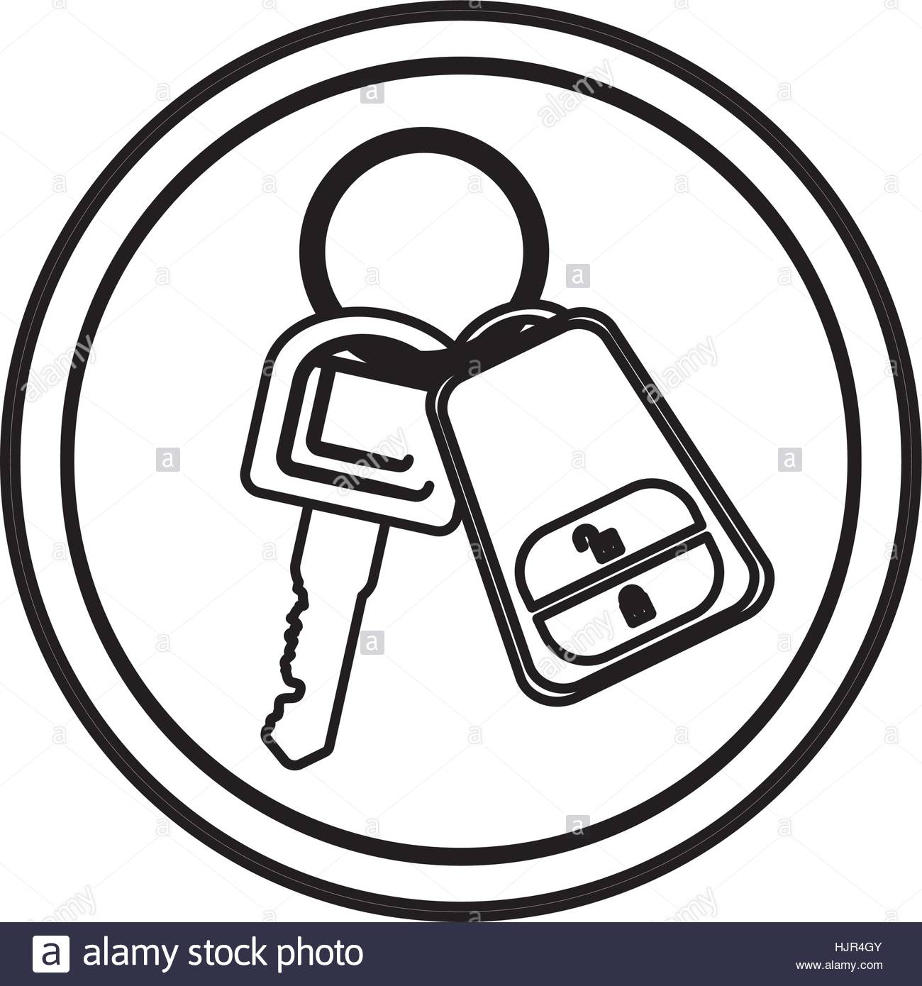 1300x1390 Remote Control Car Key Icon Vector Illustration Graphic Design