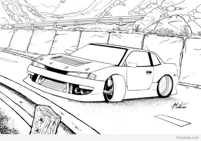 671x470 Coloring Pages Amazing Rc Car Coloring Pages Stock Vector Hand