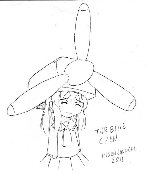 512x603 Wind Turbine Studio Mugenjohncel