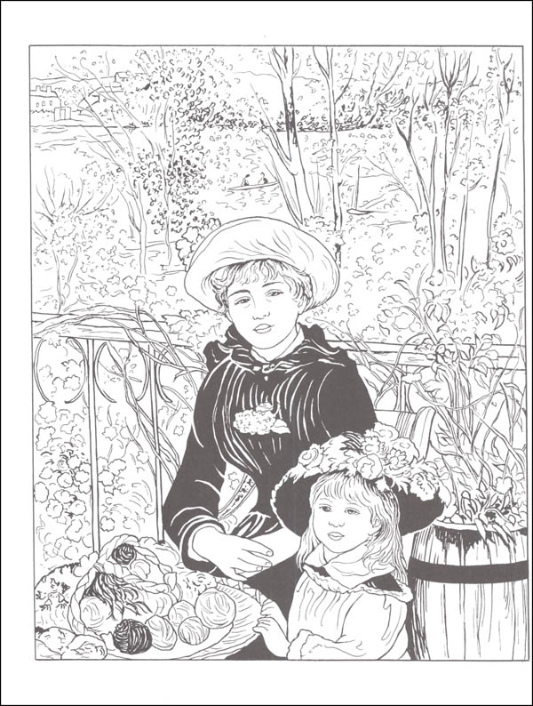 600x794 Color Your Own Renoir Paintings (Dover Masterworks) (013034