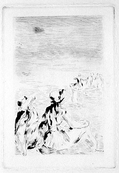 398x578 Pierre Auguste Renoir (1841 1919) Etchings And Lithographs