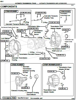 267x356 Toyota A750e A750f Transmission Service And Repair Manual