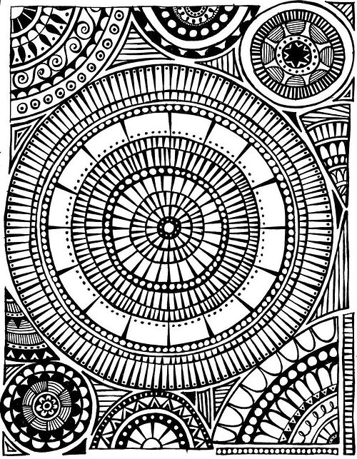500x643 Zen Doodle Zentangle Patterns . Doodles