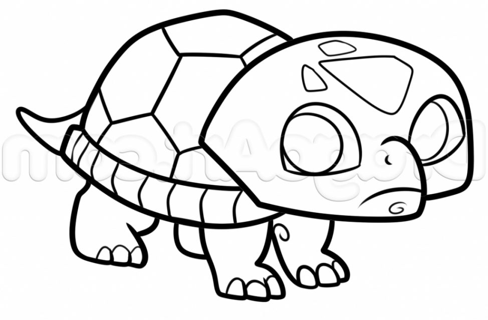 974x639 A Simple Drawing Of A Turtle Tags A Drawing Of A Turtle Easy