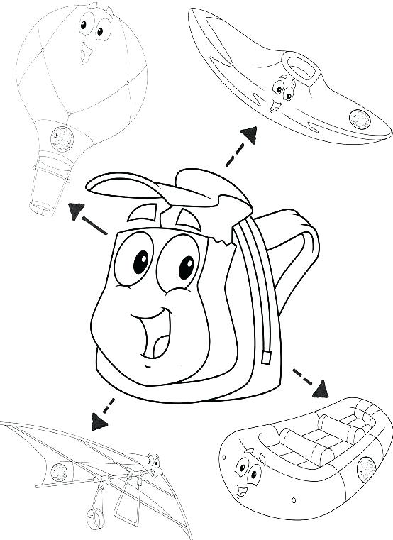 554x761 Dora And Diego Coloring Pages Printable Rescue Pack Y Best