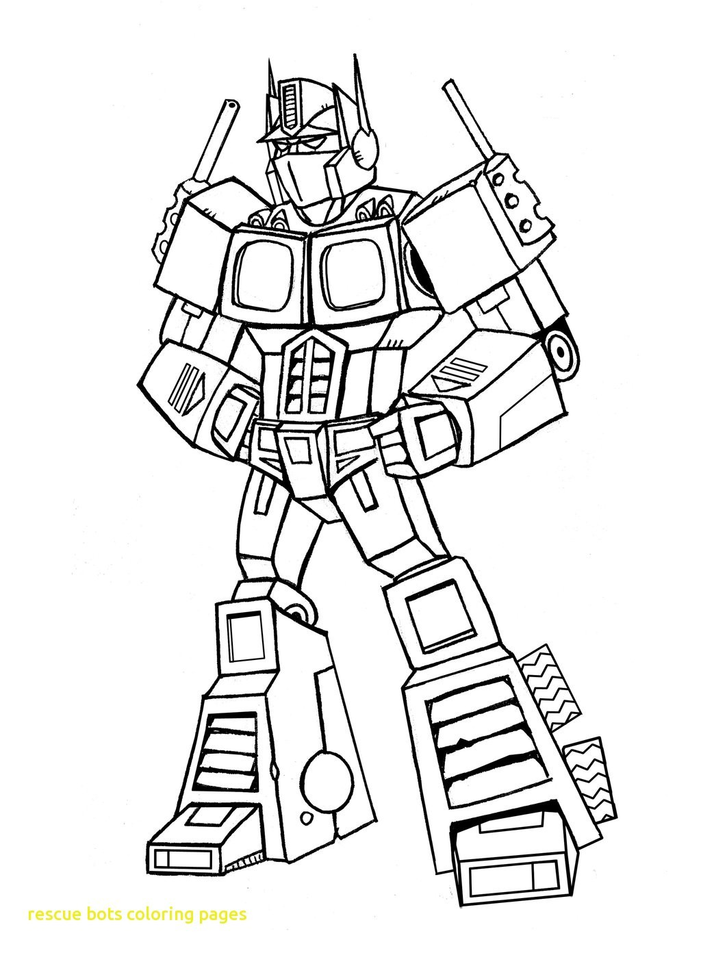 1024x1392 Rescue Bots Coloring Pages To Print Copy Rescue Bots Coloring