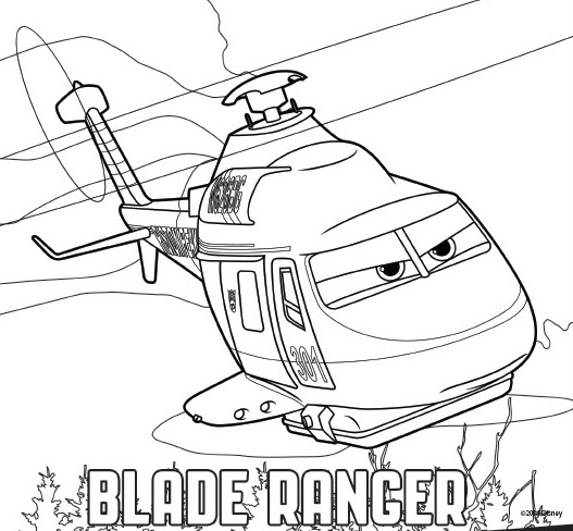 527x488 Coloring Pages Planes 2 Fire And Rescue Drawing