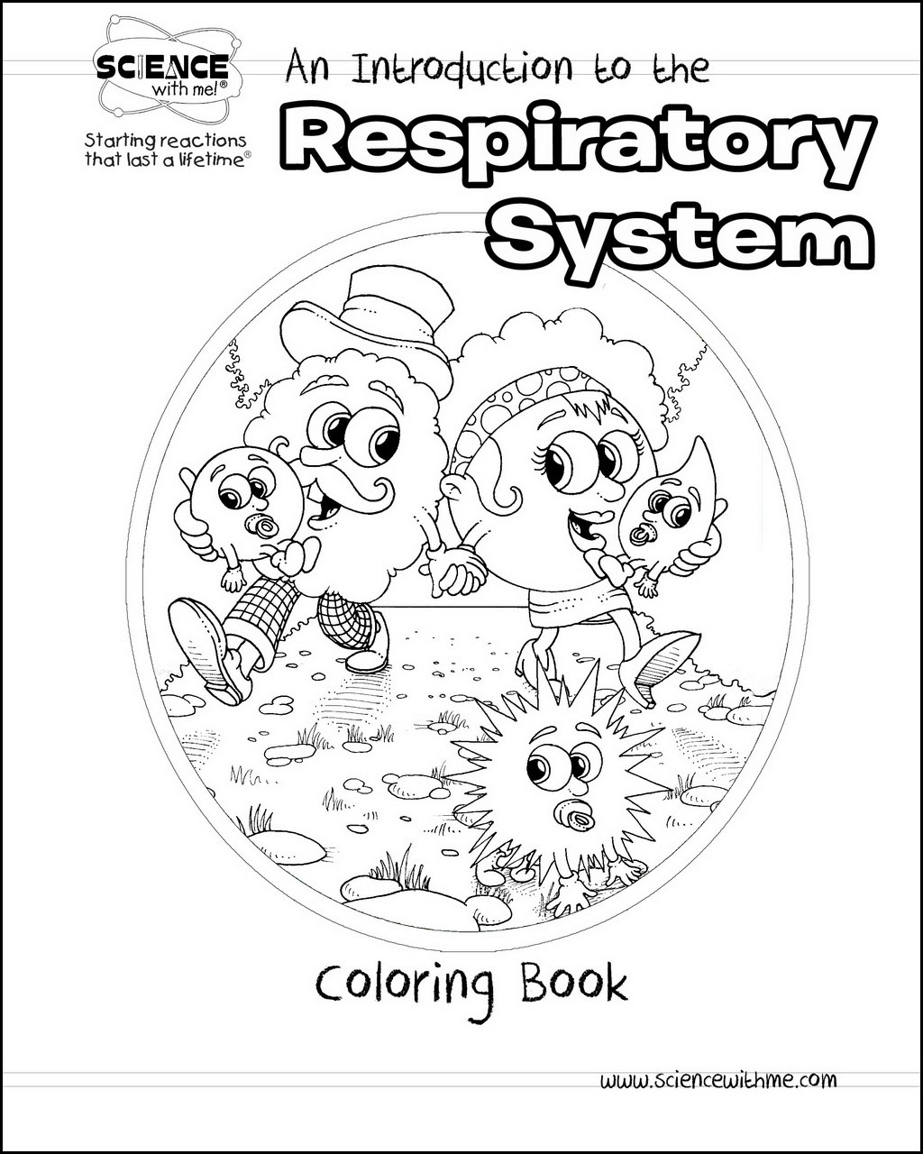 Respiratory system drawing at getdrawings free for personal 1024x1280 an introduction to the respiratory system coloring book ccuart Gallery