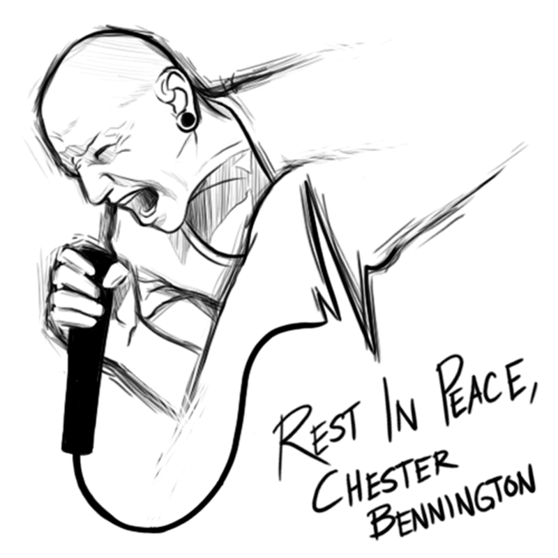 800x800 Rest In Peace, Chester Bennington By Bluetoaster