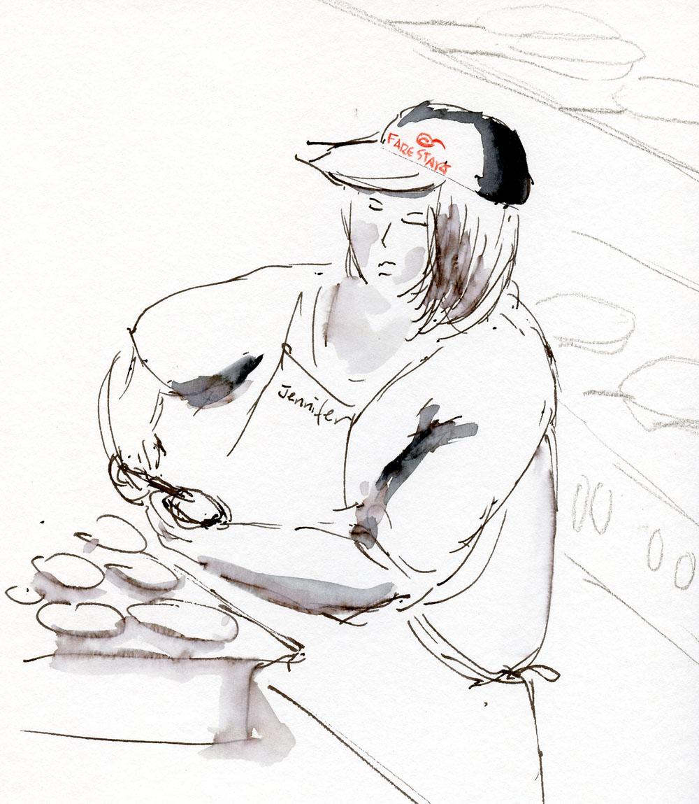 Restaurant Drawing