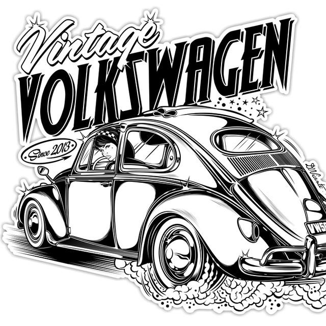 640x640 Design Vintage Volkswagen