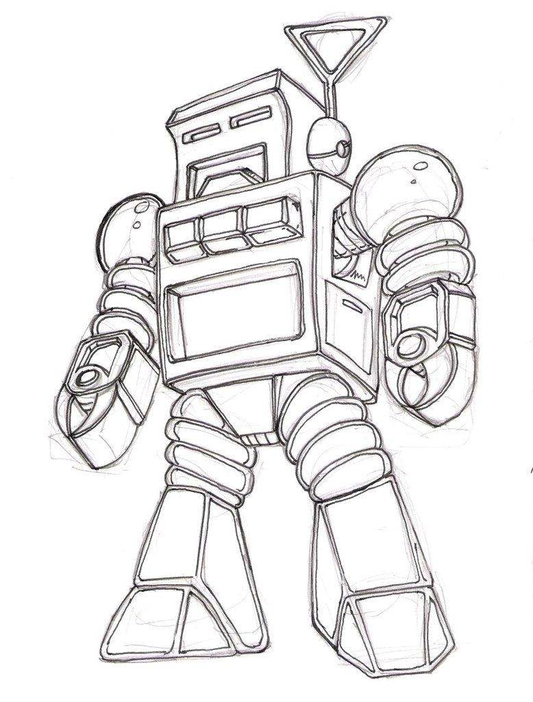 778x1025 Retro Robot Wip By Pittstop