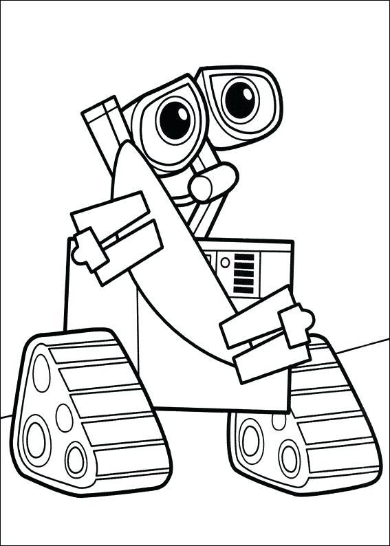 567x794 Robot Coloring Genesisar.co