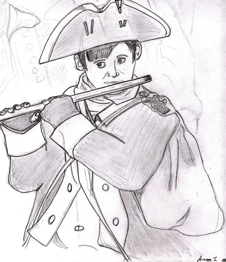 768x892 Revolutionary War Drawing 2 By Gi Joe09