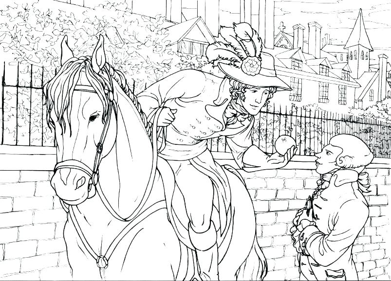 803x578 Revolutionary War Coloring Pages
