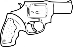 310x203 How To Draw Revolver