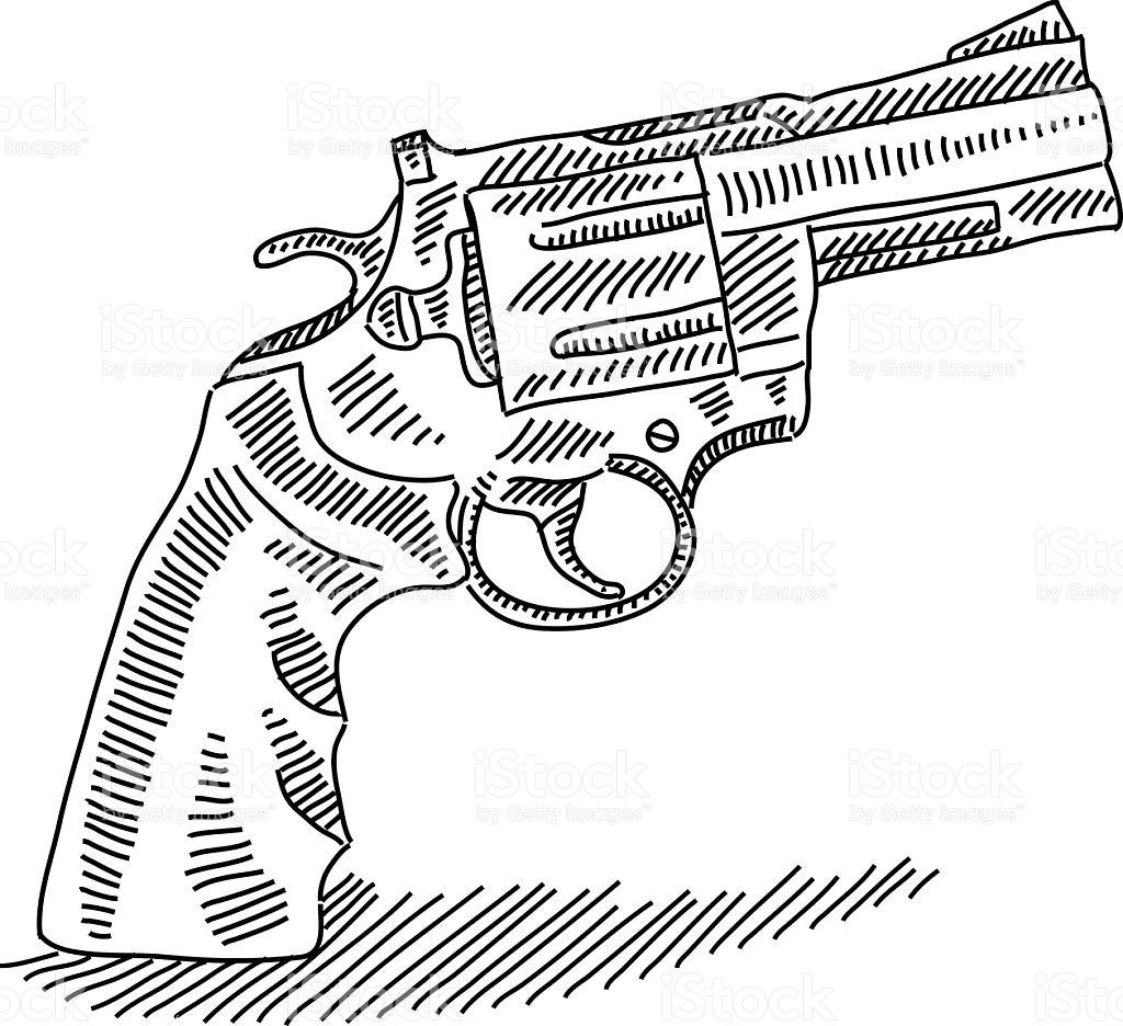 1024x936 Resultado De Imagen De Revolver Dibujo Dibujo