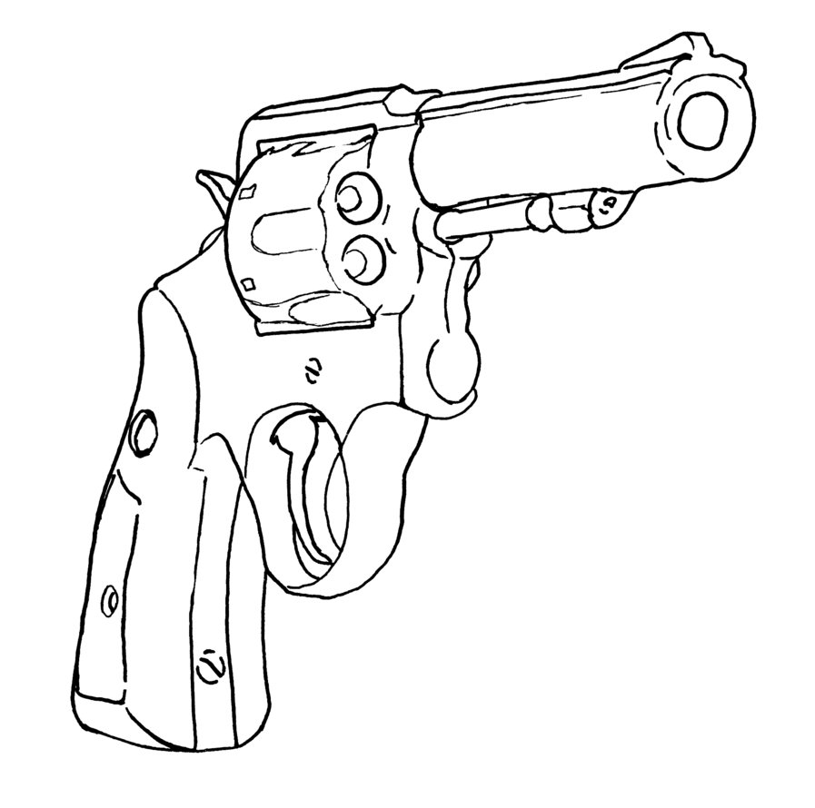 897x890 Revolver By Lordealeister