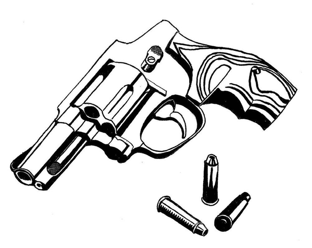 1001x797 Revolver Small By Georgezanooda