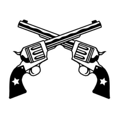 400x400 Revolver Drawing