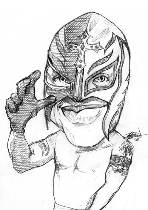 496x702 Rey Mysterio By Bardsville