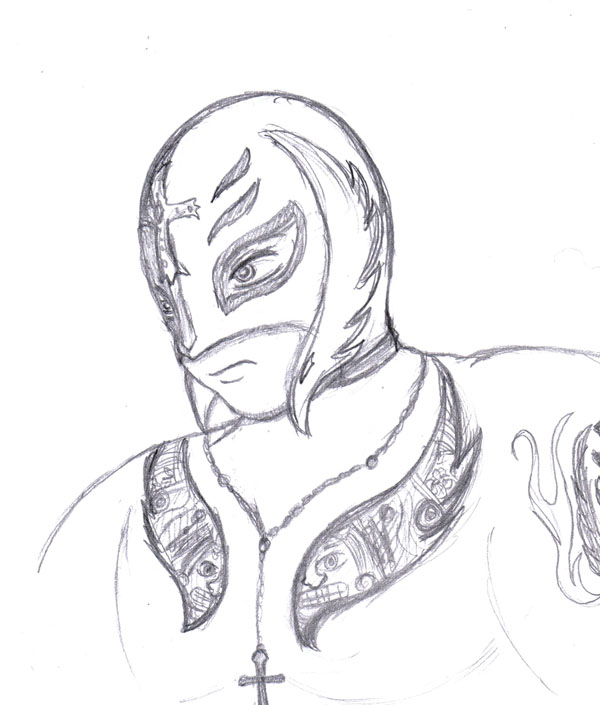 600x705 Rey Mysterio By Shini Smurf
