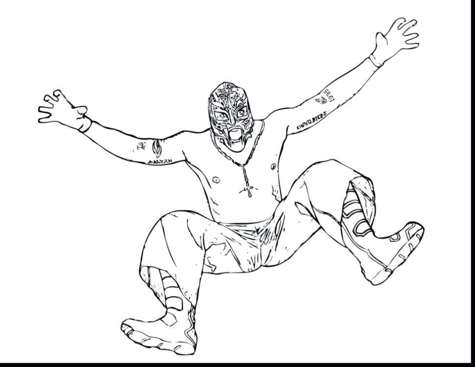970x750 rey mysterio mask coloring pages