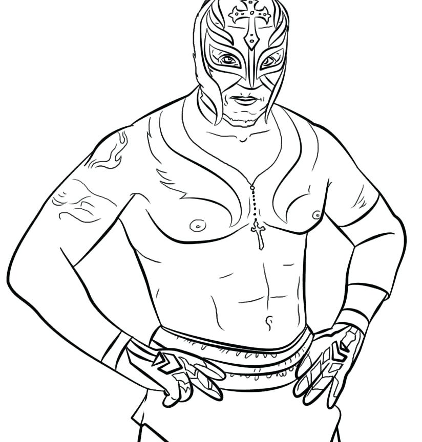 824x864 rey mysterio mask coloring pages brexitbookclub