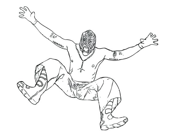 600x464 rey mysterio mask coloring pages coloring pages rey mysterio mask