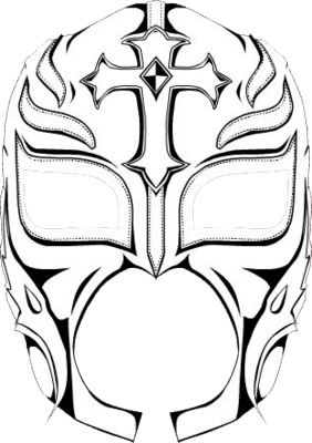 282x400 rey mysterio mask coloring pages coloring page for kids