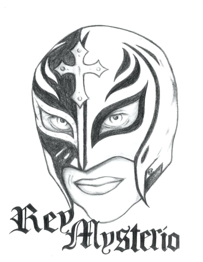 700x905 rey mysterio coloring mask coloring pages wwe rey mysterio mask