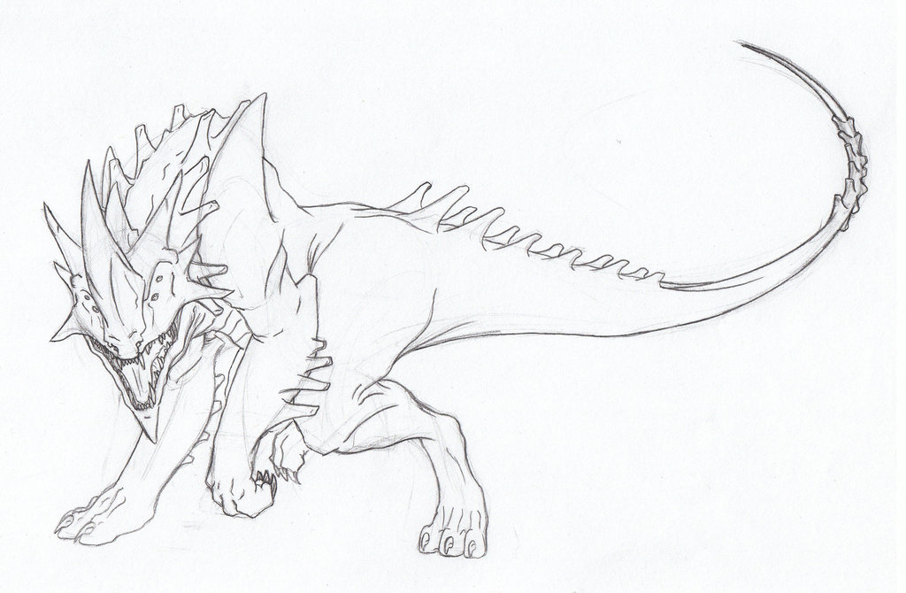 Line Art Dragon : Rhino line drawing at getdrawings free for personal use