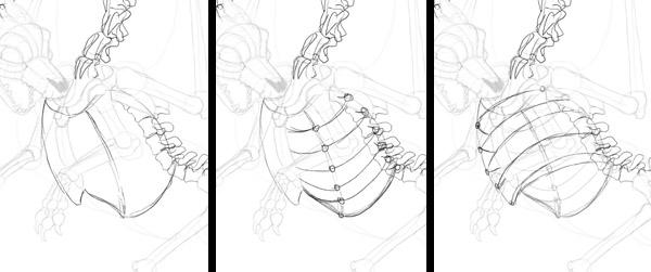 600x251 Create Zombie Dragon Concept Art Design And Sketch